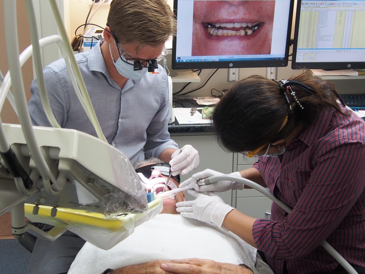 The enormous emotion that is attached to dentistry, is I think, a hugely positive thing.
